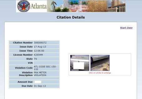 Atlanta GA area where Criminal Records is located is NOT Tourist Friendly.