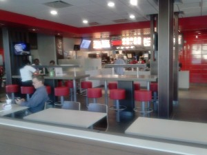 Newly Remodeled McDonalds - one of Ted Bertuca's Bertuca Organization Stores - or is it?