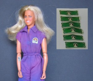 1970's Jaime Sommers came with cash...2013 Barbie now comes with a credit card!